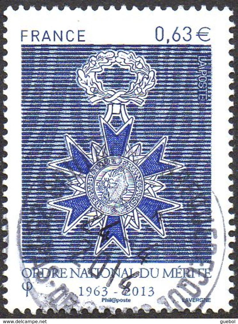 Oblitération Cachet à Date Sur Timbre De France N° 4830 - Ordre National Du Mérite - Frankreich