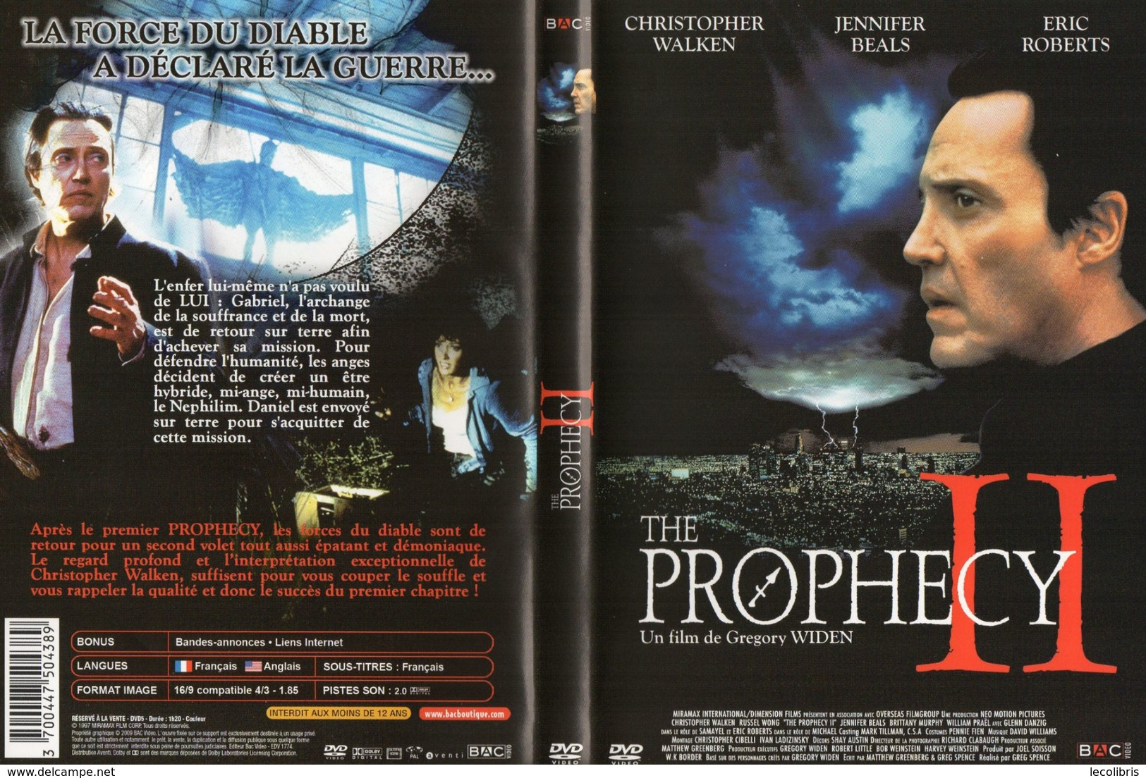 THE PROPHECY  °°°° - Sci-Fi, Fantasy