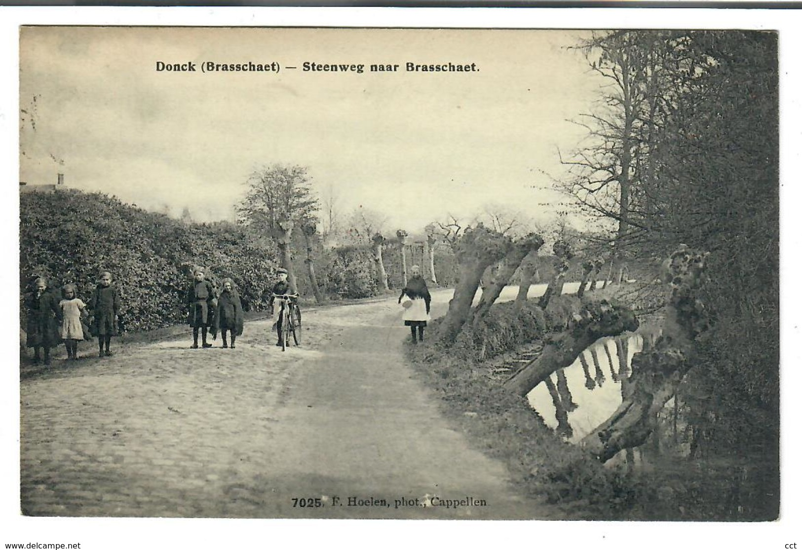 Donck  Donk  Brasschaet  Steenweg Naar Brasschaet  Edit Hoelen N° 7025 - Brasschaat