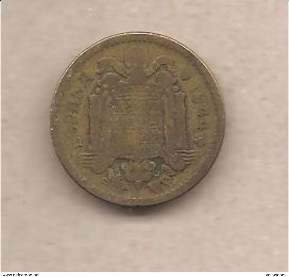 Spagna - Moneta Circolata Da 1 Peseta - 1944 - 1 Peseta