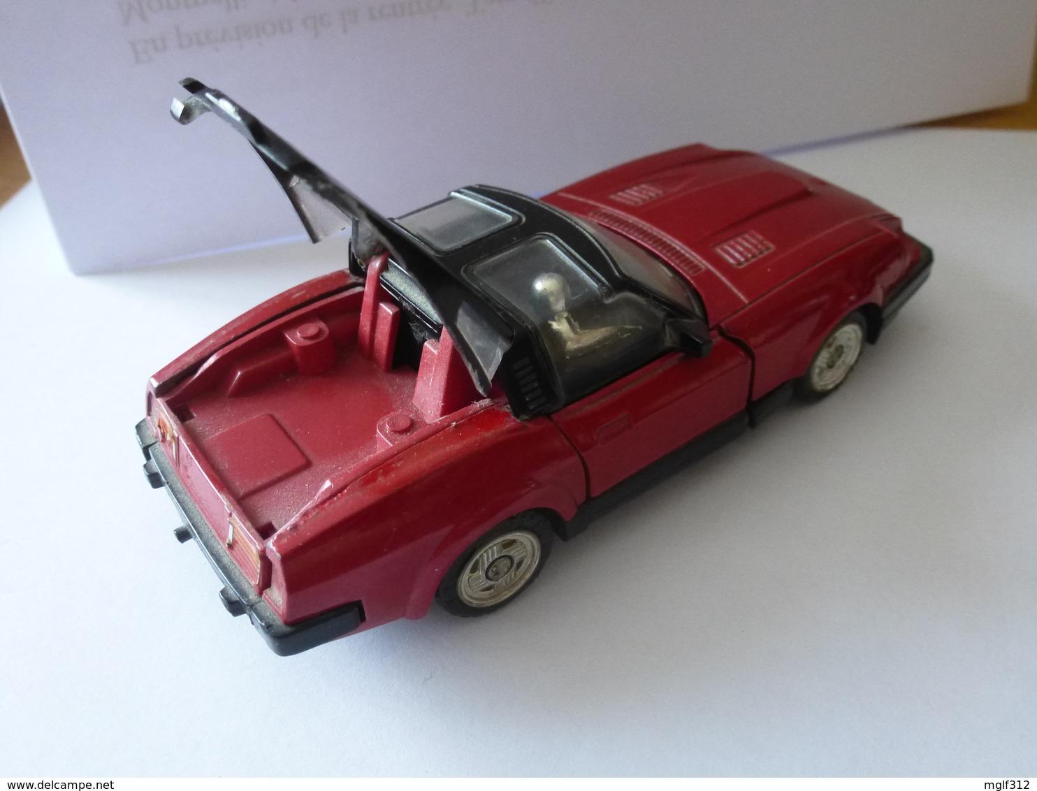 GoBot Fairlady Red Car Popy Transformers Rare Hasbro 1983 Original En Métal - Transformers