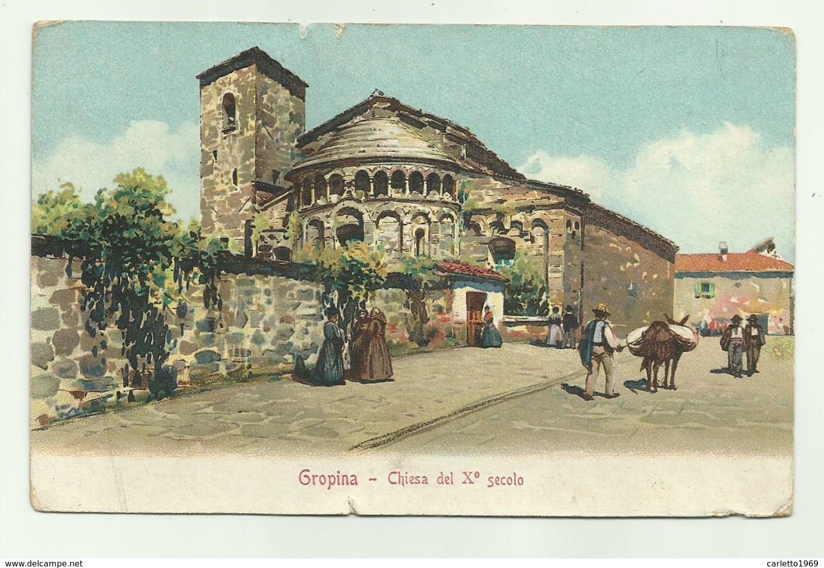 GROPINA - CHIESA DEL X SECOLO NV FP - Arezzo