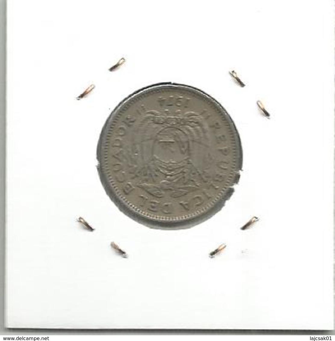 A9 Ecuador 20 Centavos 1974. - Ecuador