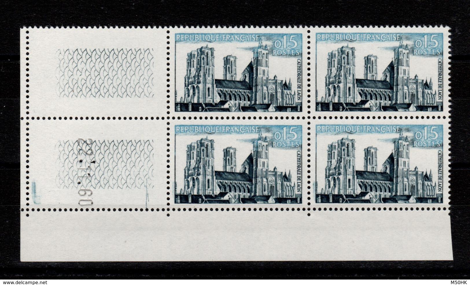 Coin Daté - YV 1235 N** Coin Daté 22.11.60 - 1960-1969