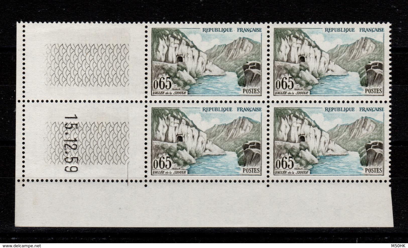 Coin Daté - YV 1239 N** Coin Daté Du 15.12.59 - 1960-1969