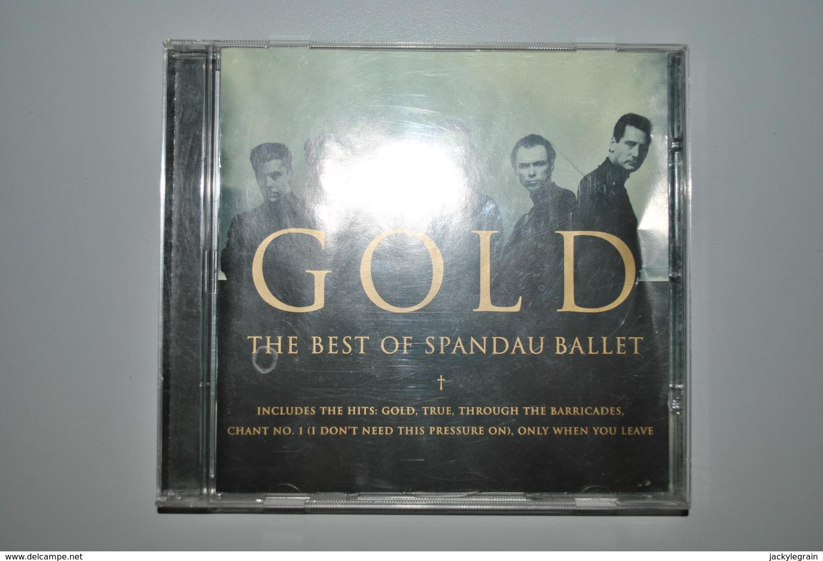 """Spandau Ballet """"Gold"""" Bon état (quelques Griffes Superficielles) Vente En Belgique Uniquement Envoi Bpost 2,50 € - New Age"""