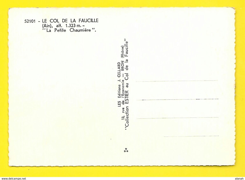 """COL De La FAUCILLE """"La Petite Chaumière"""" Bar Hôtel (Cellard) Ain (01) - France"""