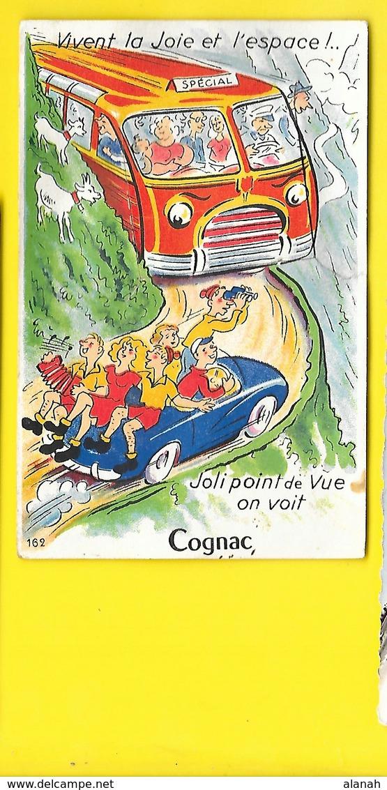 COGNAC Carte à Système (Gaby) Charente (16) - Cognac
