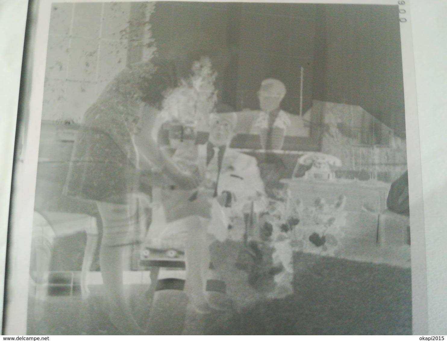 SUPERPOSITION DE 2 IMAGES SURRÉALISME WEIRD  SUR UN NÉGATIF DE PHOTO RATÉE + 6 AUTRES NÉGATIFS DE LA MÊME FAMILLE - Matériel & Accessoires
