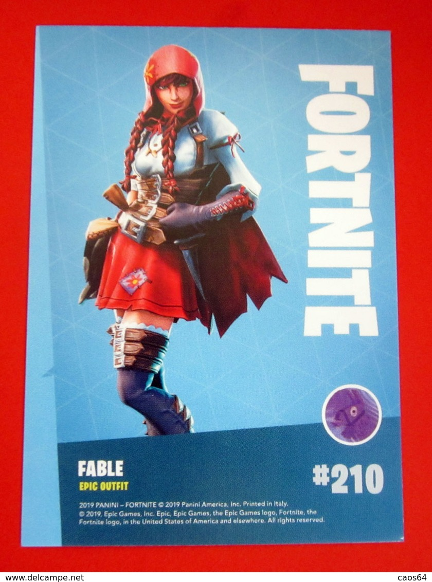 FORTNITE SERIES 1 TRADING CARDS PANINI 210 - Altri