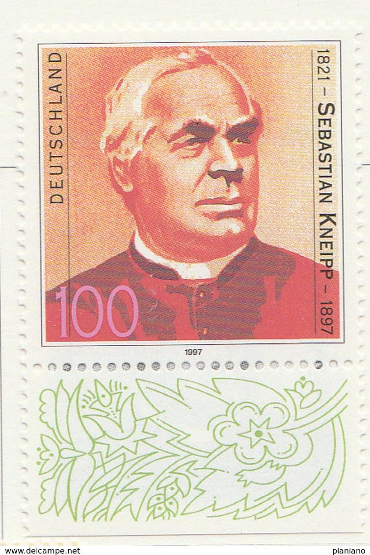 PIA - GER- 1997 : Centenario Della Morte Dell'inventore Di Una Terapia Sebastian Knneipp  - (Yv 1757) - Medicina