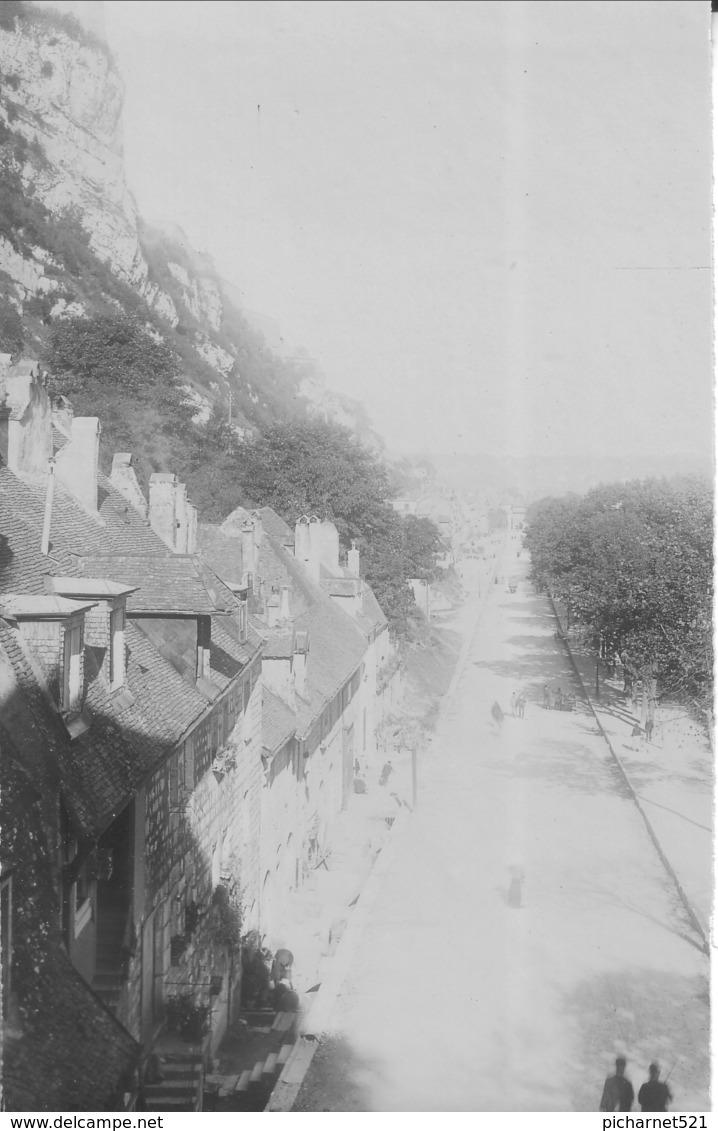 Besançon - Lot De 5 Photos Originales. Formats 14 X 9 Cm. Légende Manuscrite Sur 3 Photos Au Verso. Bon état. - Places