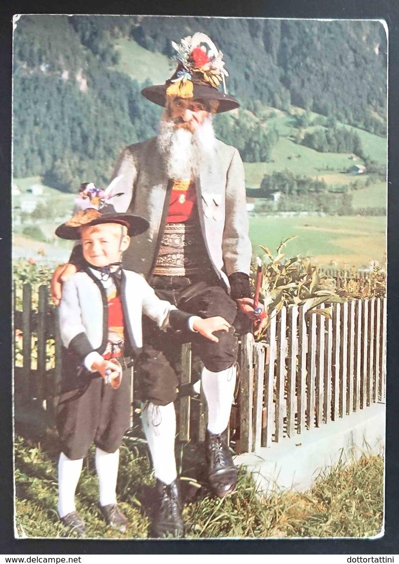 ZILLERTAL - Austria - Tractengrusse Aus Dem Zillertal - Costume Folklorique  - Costumes Vg - Costumi