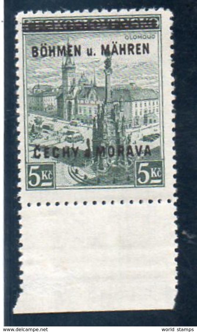 BOHEME ET MORAVIE 1939 ** - Bohême & Moravie