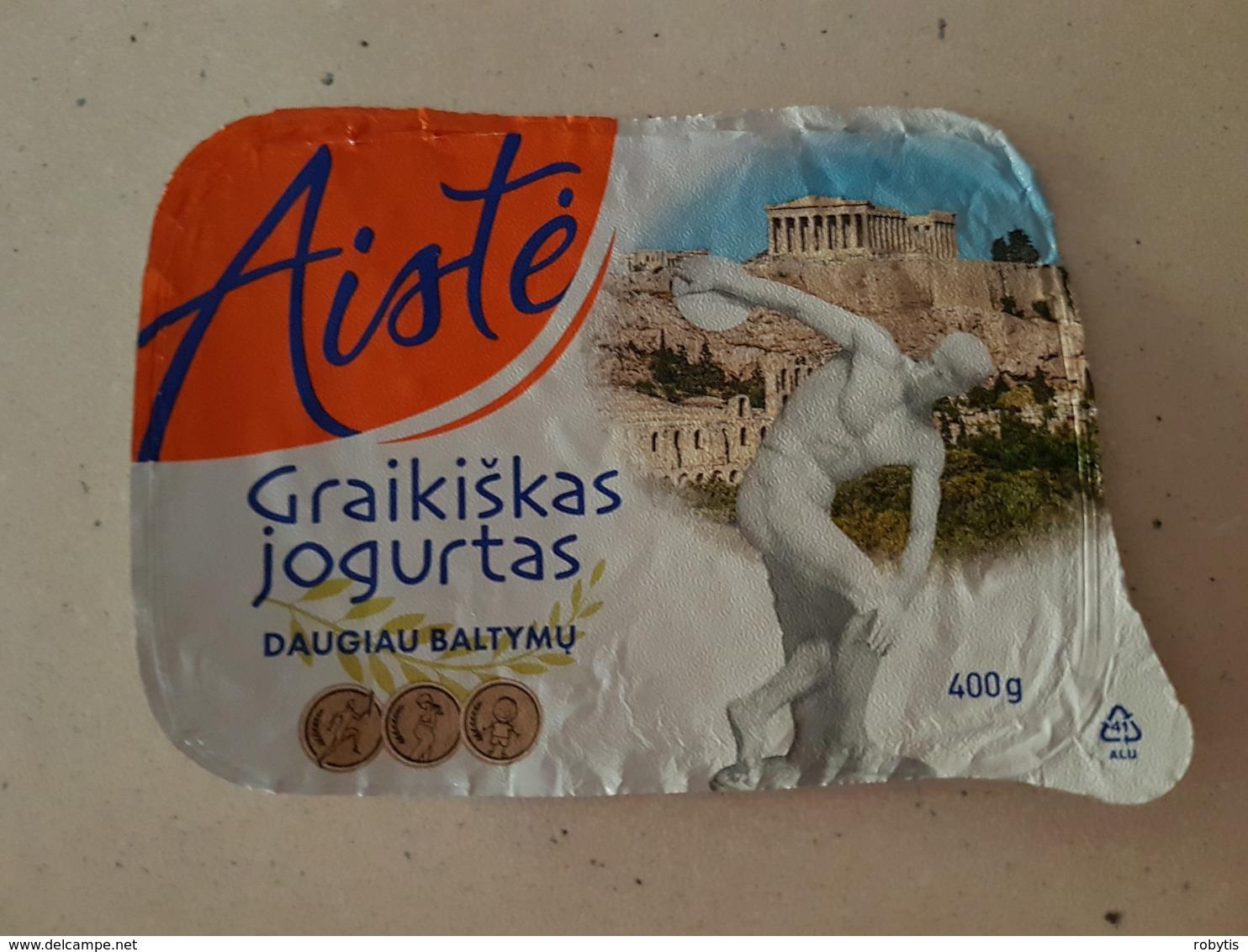 Yogurt  Lithuania - Milk Tops (Milk Lids)