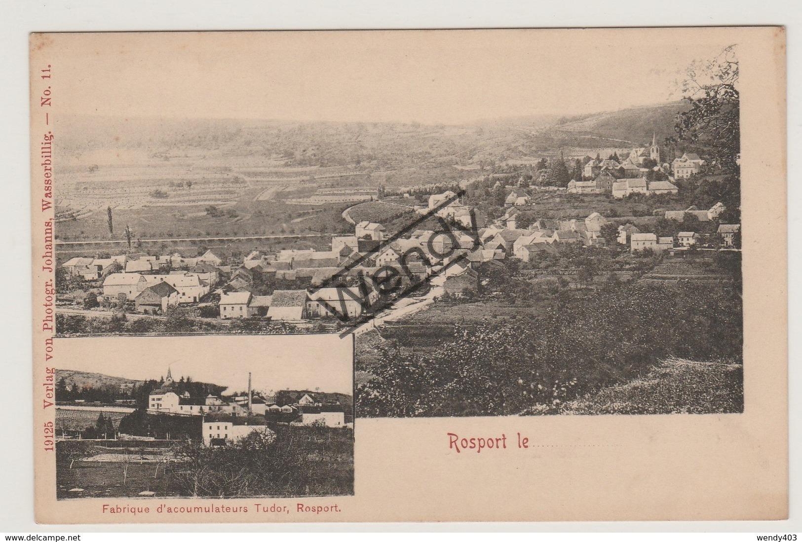 Rosport - Fabrique D'acoumulateurs Tudor - Echternach