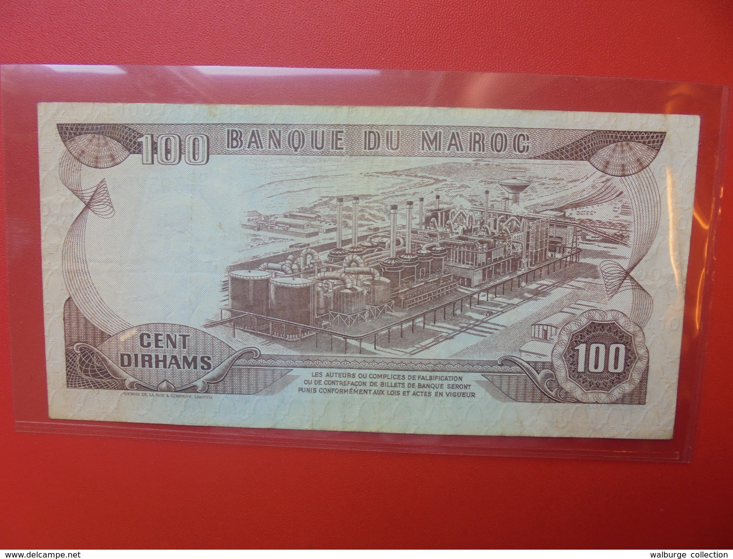 MAROC 100 DIRHAMS 1985 CIRCULER (B.6) - Marocco