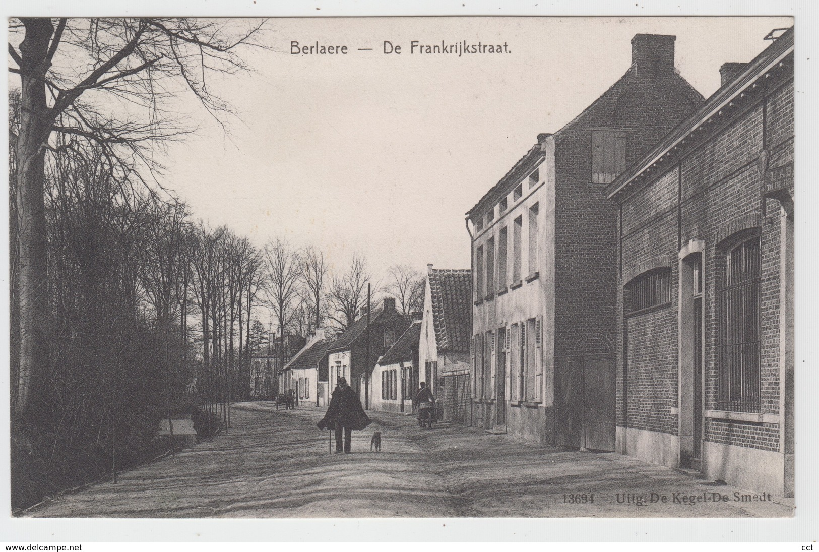 Berlaere  Berlare  De Frankrijkstraat - Berlare