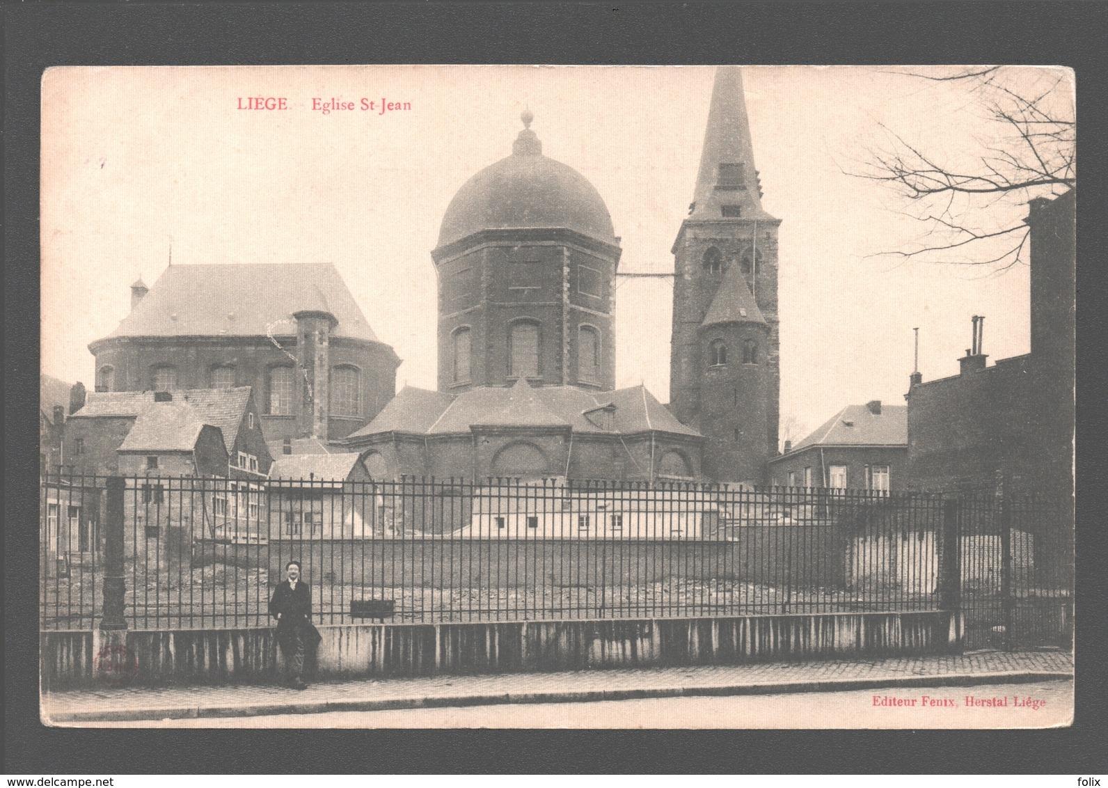 Liège - Eglise St-Jean - éditeur Fenix, Herstal-Liège - Dos Simple - Liege