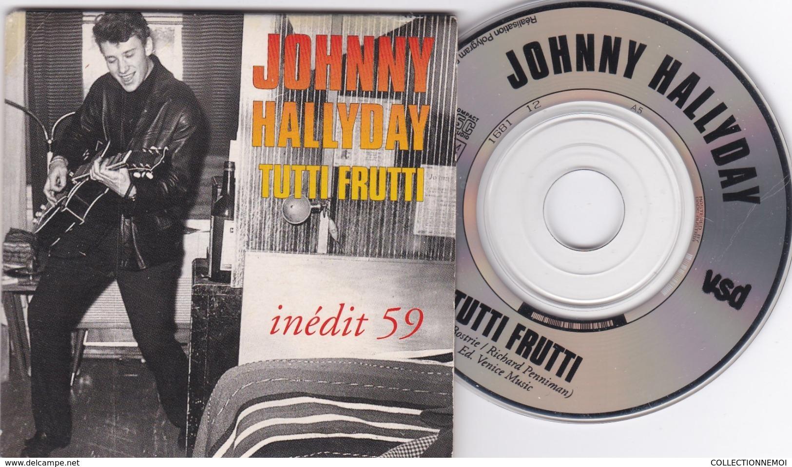 JOHNNY HALLYDAY Tutti Frutti ,INEDIT 59 ((lot 433  )) - Formats Spéciaux