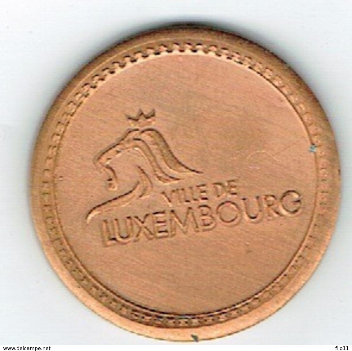 Luxembourg Jeton /Token Parking (Ville) Millenium In The City. - Jetons En Medailles