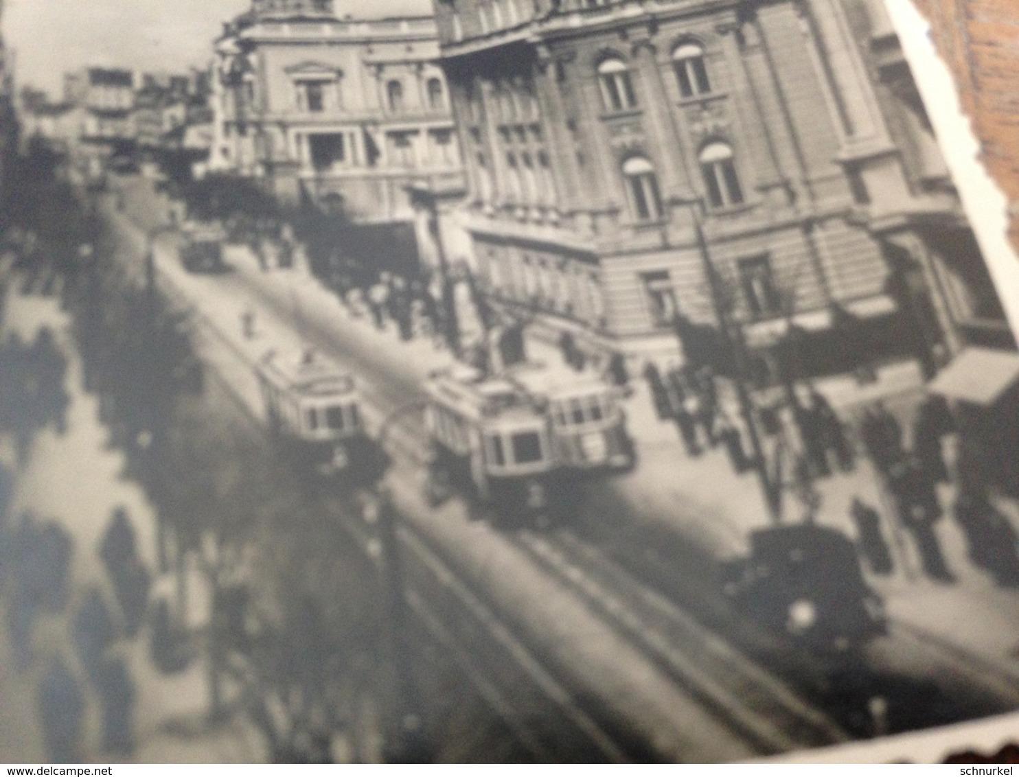 BELGRAD - BEOGRADE - SERBIA - EX-JUGOSLAWIEN - 40/50er - 1 - RUE DU ROI MILAN - STRASSE KOENIG MILAN - TRAMWAYS - Luoghi