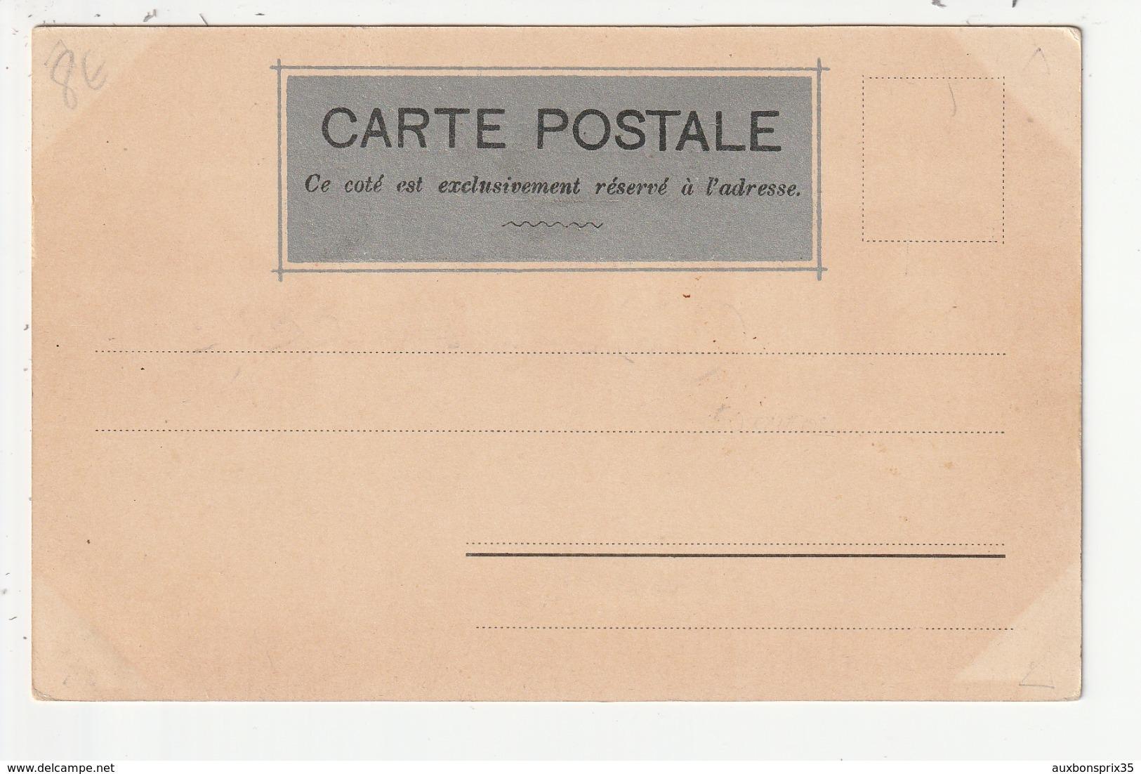 CANCALE - DESSIN HUMORISTIQUE - LE ROCHER DE CANCALE - KILLINGER ET FAIVRE -PARIS N°129 -F. KILLINGER EDITEUR ZURICH-35 - Cancale