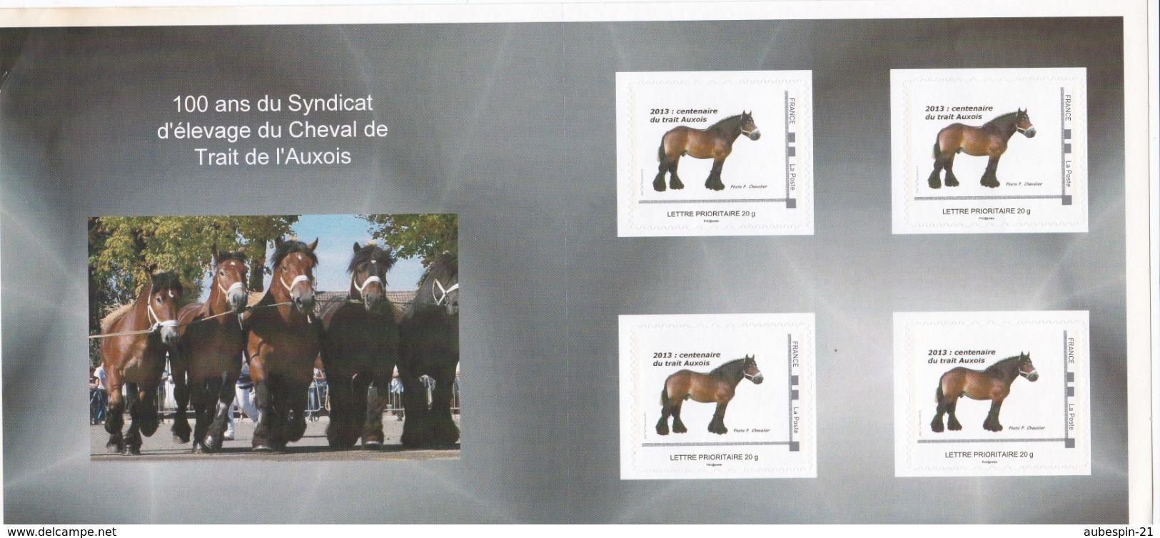 Carnet Prestige Centenaire Du Trait De L'Auxois (21) ID Timbre Tarif Lettre Prio 20 G - France