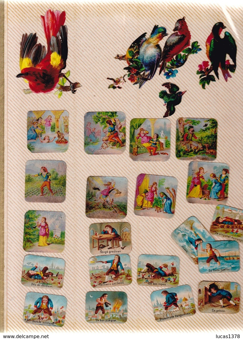 TRES BEL ALBUM DE PLUS DE 540 DECOUPIS DONT RARES - Album & Cataloghi