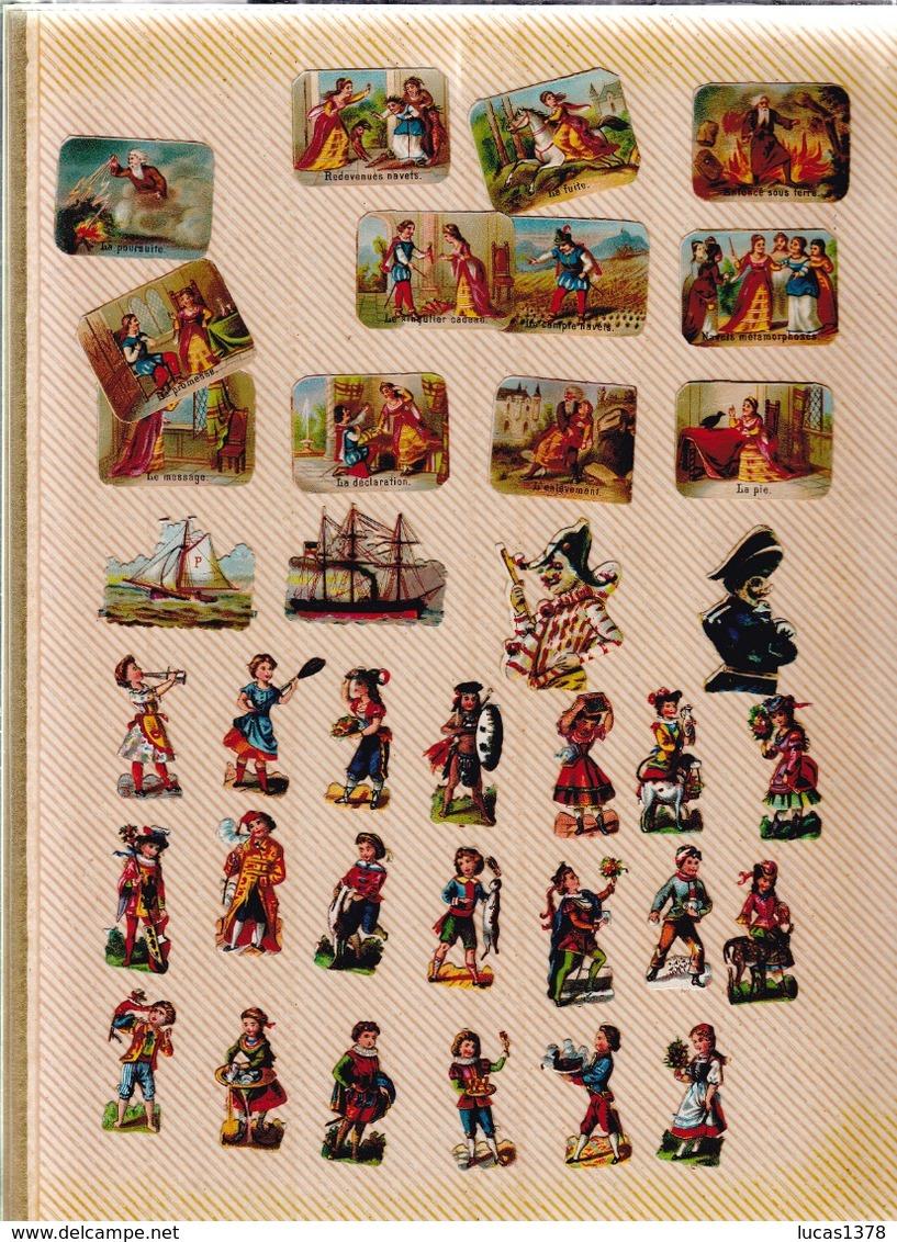 TRES BEL ALBUM DE PLUS DE 540 DECOUPIS DONT RARES - Albums & Catalogues