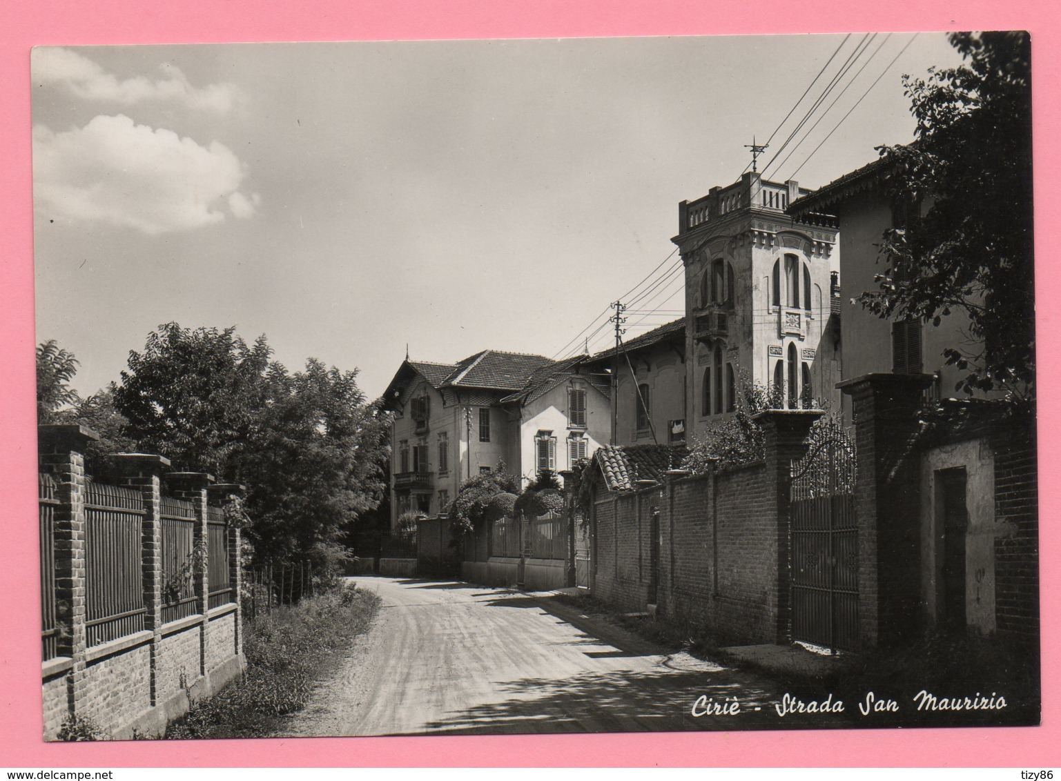 Ciriè - Strada San Maurizio - Italia