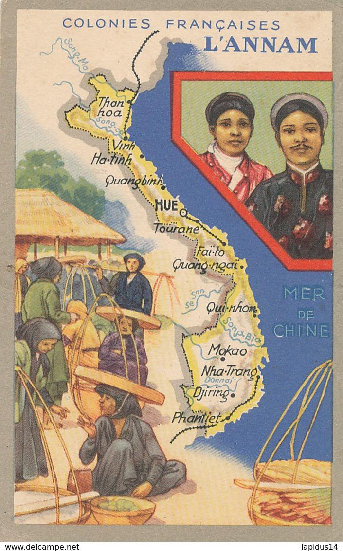AN 642  /  C P A - COLONIES FRANCAISES   L'ANNAM - Postcards