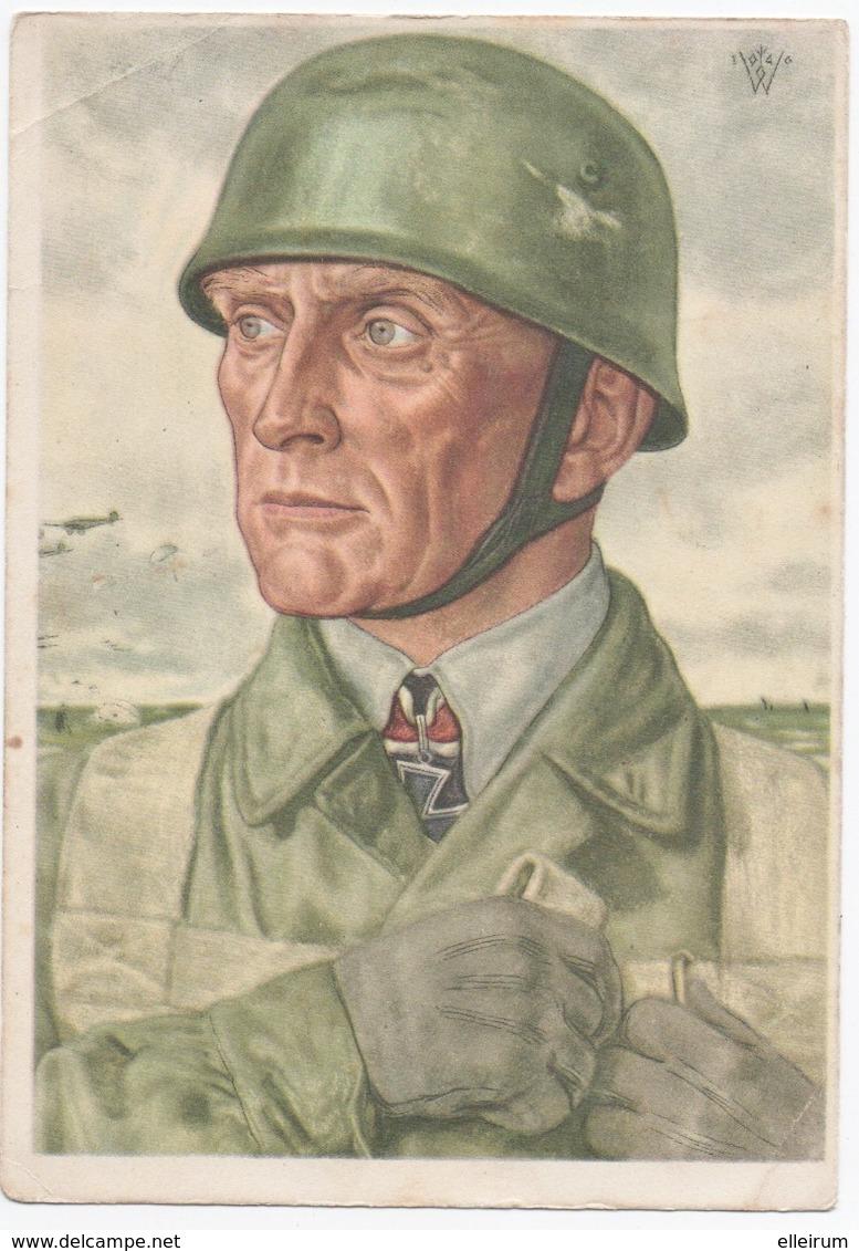 MILITARIA. GUERRE 39-45. PARACHUTISTE ALLEMAND. - Guerra 1939-45