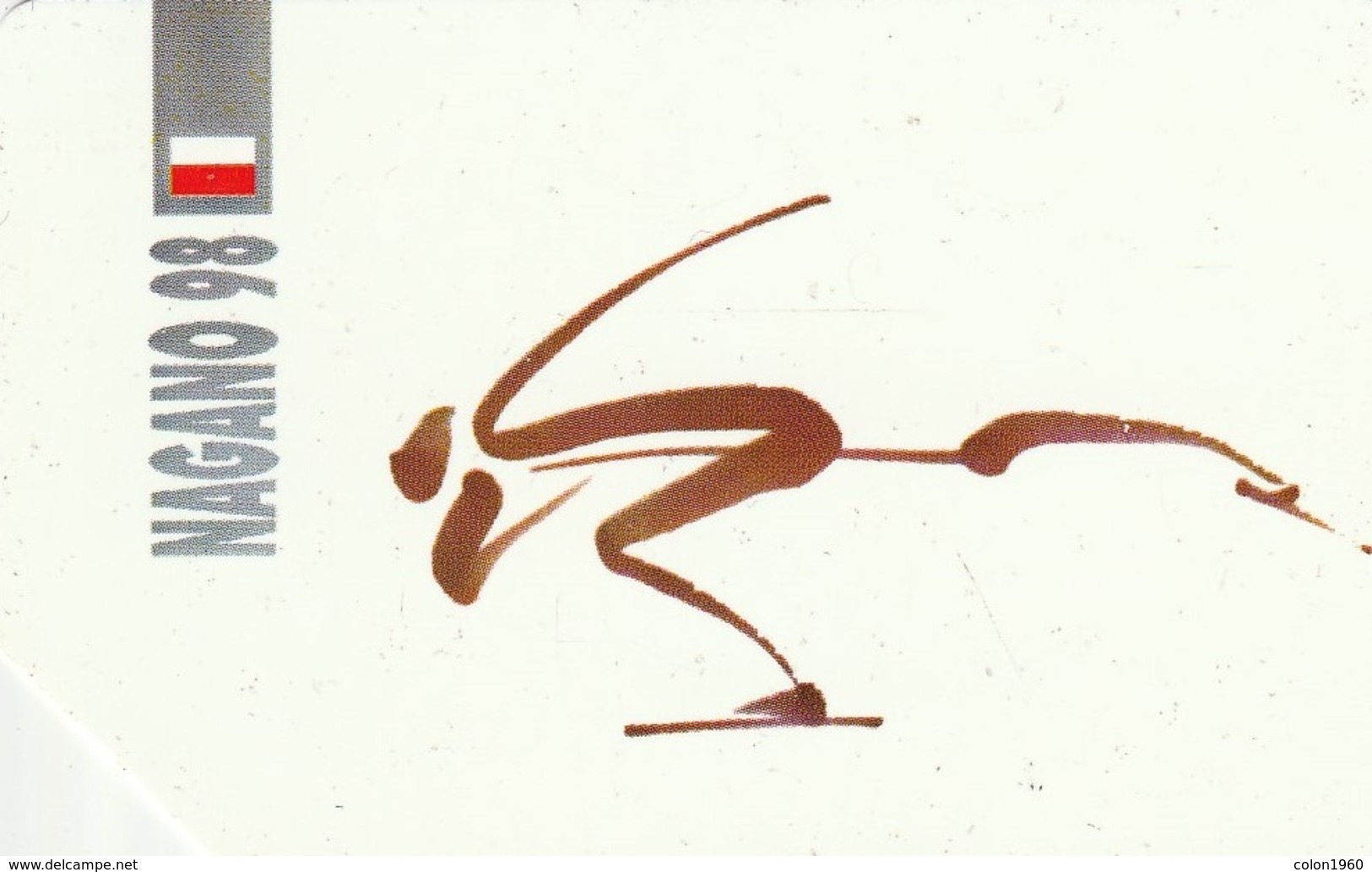POLONIA. Juegos Olimpicos. Nagano 98. Speed Skating. 452. (061) - Jeux Olympiques