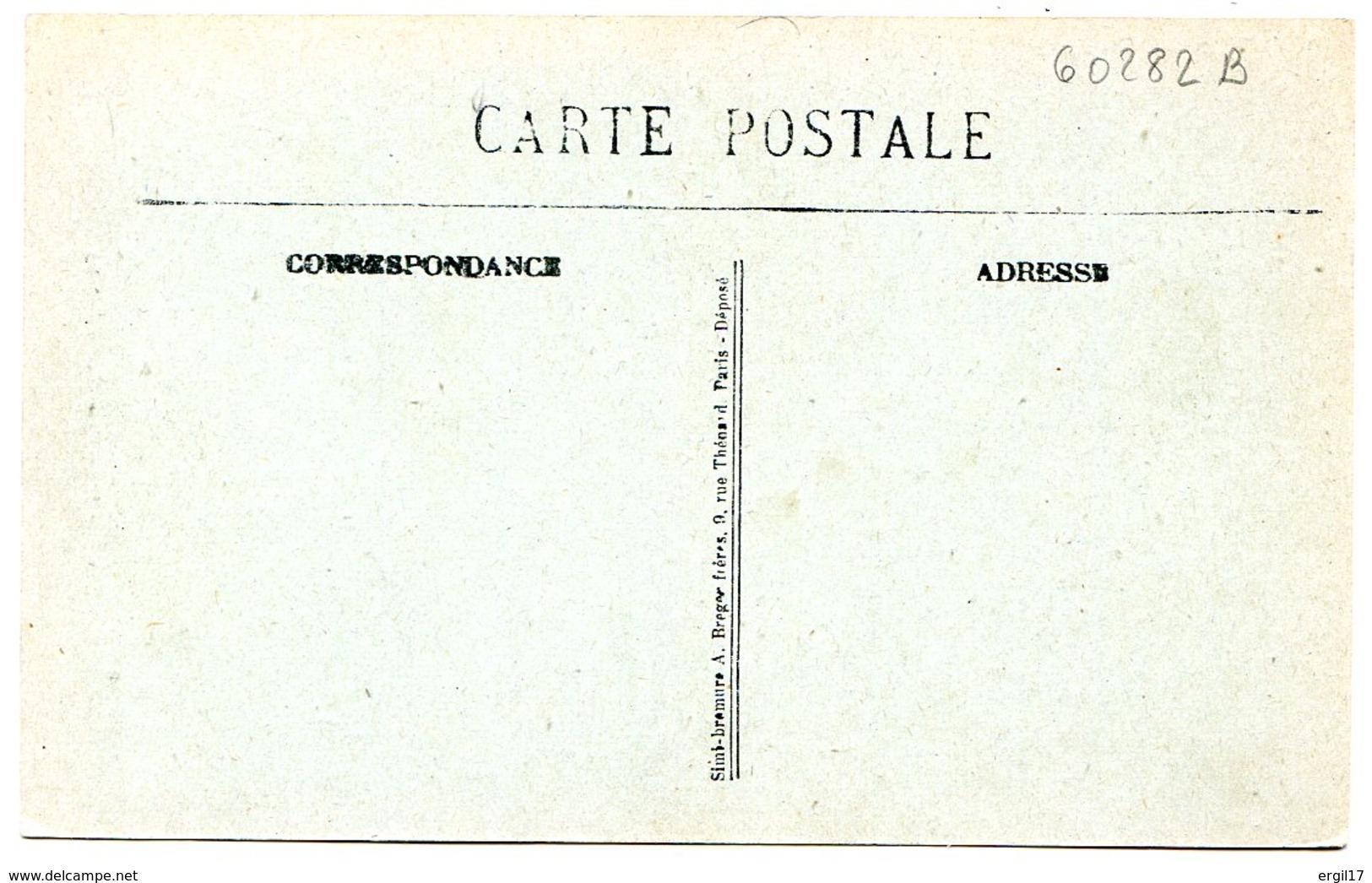 60290-60140 Limite RANTIGNY - LIANCOURT - Lot De 2 CPA - Voir Détails Dans La Description - Rantigny