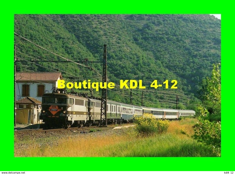 RU CA 03 - Train - Loco BB 9447 En Gare De MONTPAON - Aveyron - SNCF - Frankreich