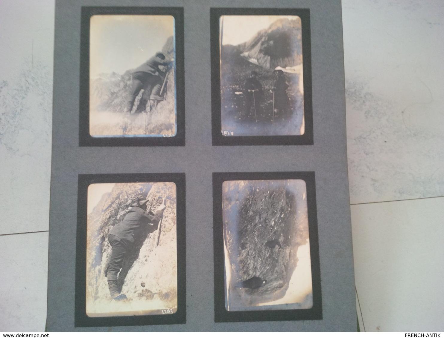 LOT 4 ALBUM SPORTS D HIVER MONTAGNE ZERMATT GRUNDENWALD BERNE MONT ST BERNARD BERN OURS CHIEN SKI - Albumes & Colecciones