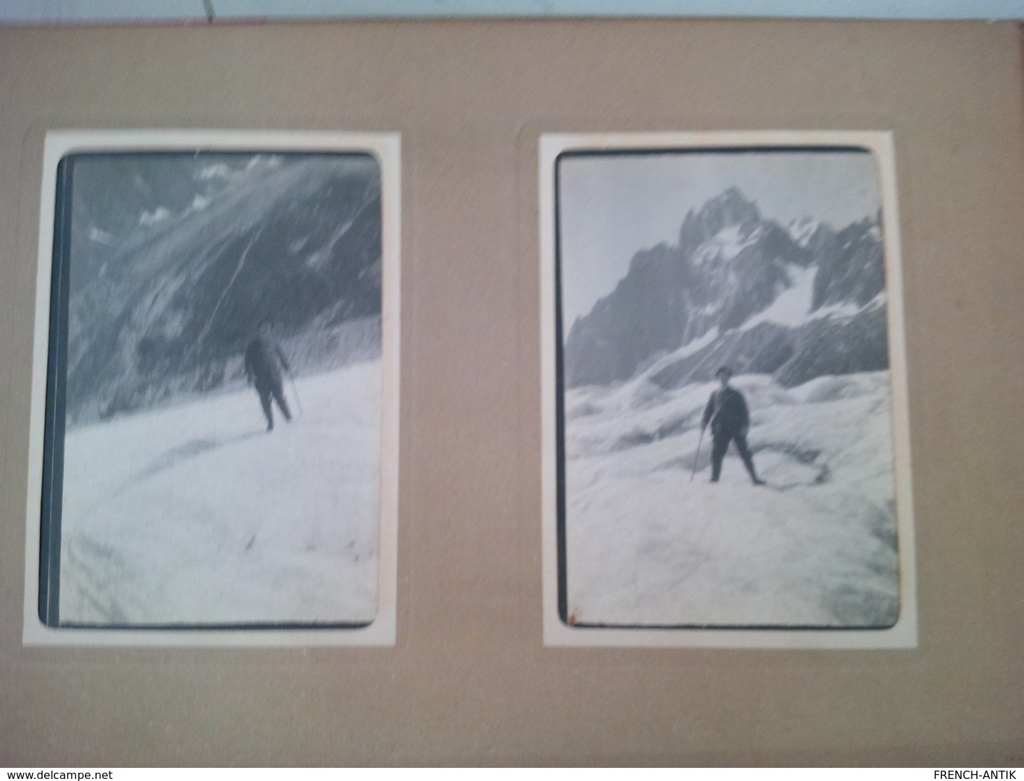 LOT 4 ALBUM SPORTS D HIVER MONTAGNE ZERMATT GRUNDENWALD BERNE MONT ST BERNARD BERN OURS CHIEN SKI - Albums & Collections