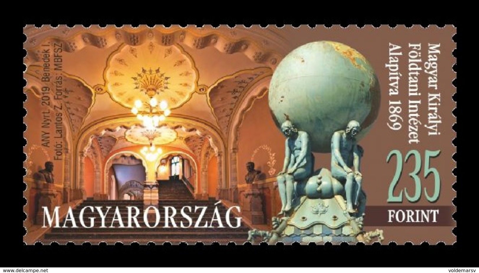 Hungary 2019 Mih. 6052 Hungarian Institute Of Geology And Geophysics MNH ** - Unused Stamps