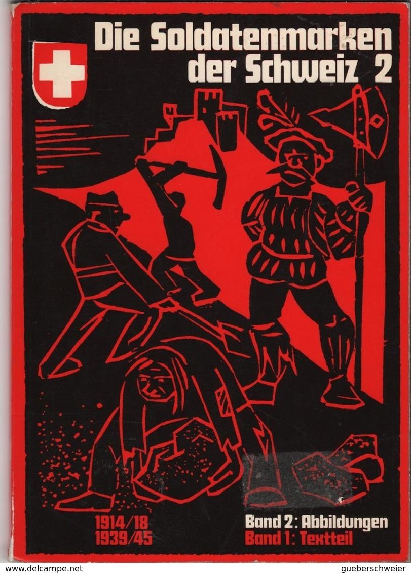 SUISSE Lot De 3 Catalogues Militärpostkarten Et Soldatenmarken - Poste Militaire