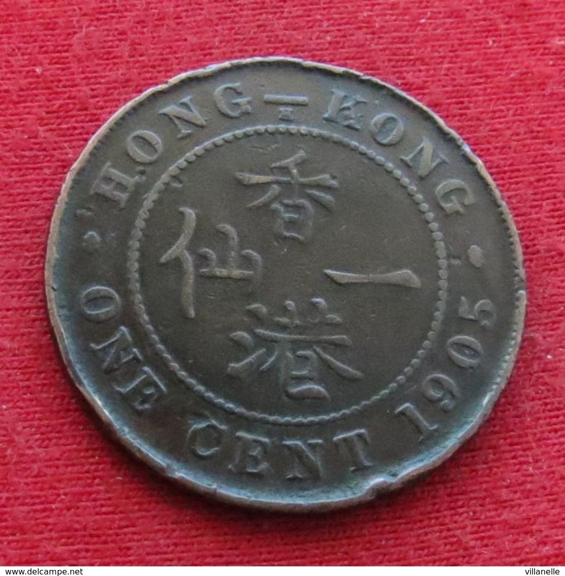 Hong Kong 1 One Cent 1905 KM# 11 Hongkong Hong-Kong - Hong Kong