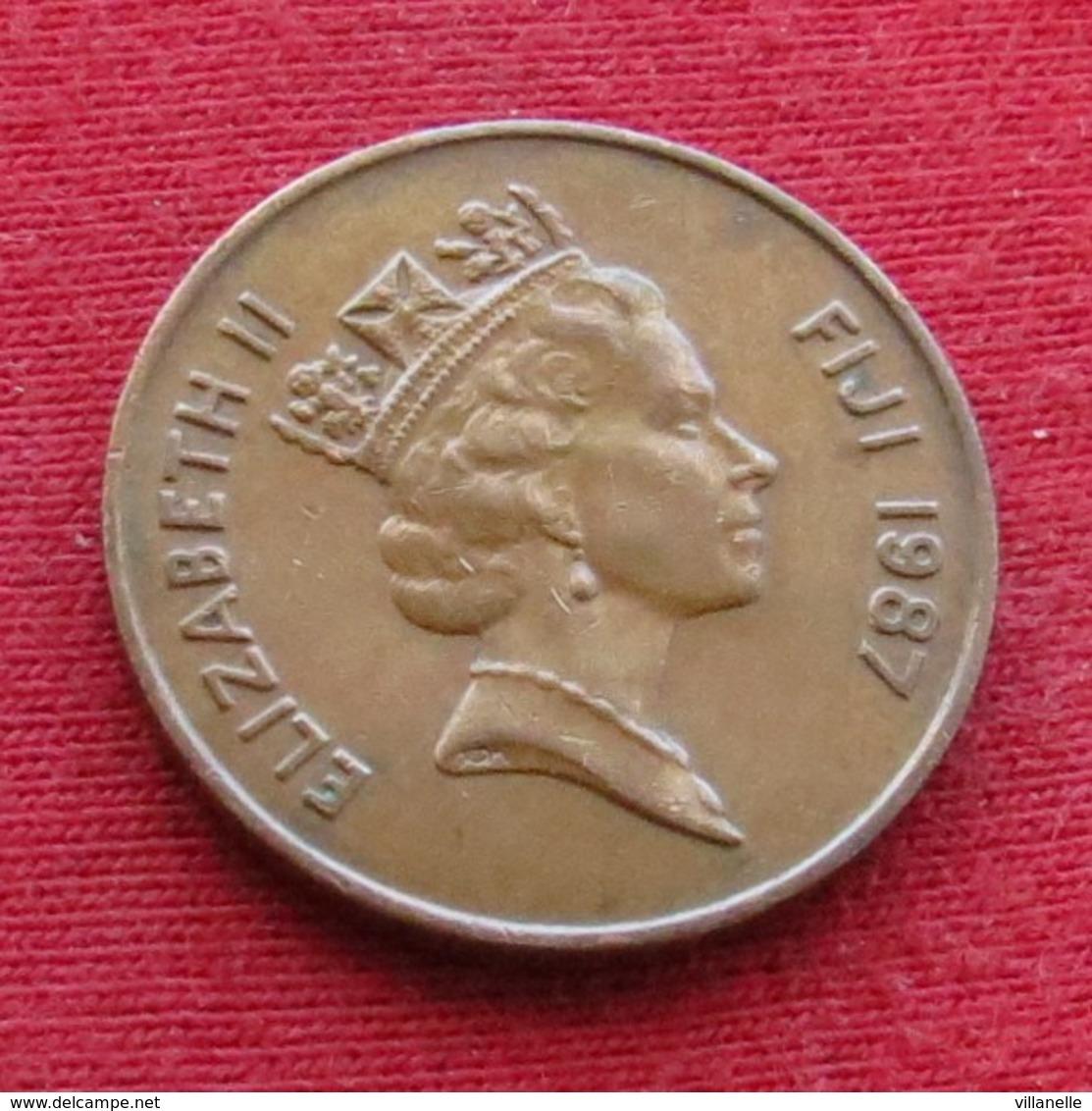 Fiji 2 Cents 1987 KM# 50 *V2 - Figi