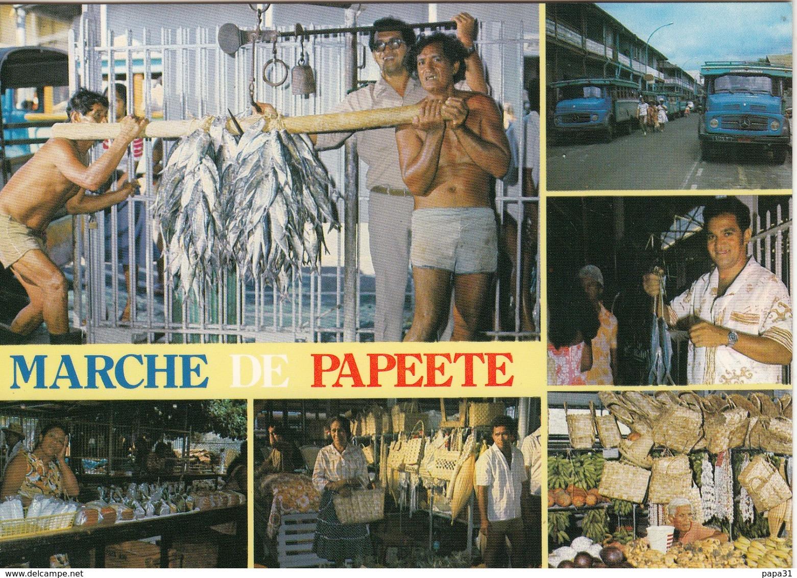 MARCHE  PAPEETE - Tahiti
