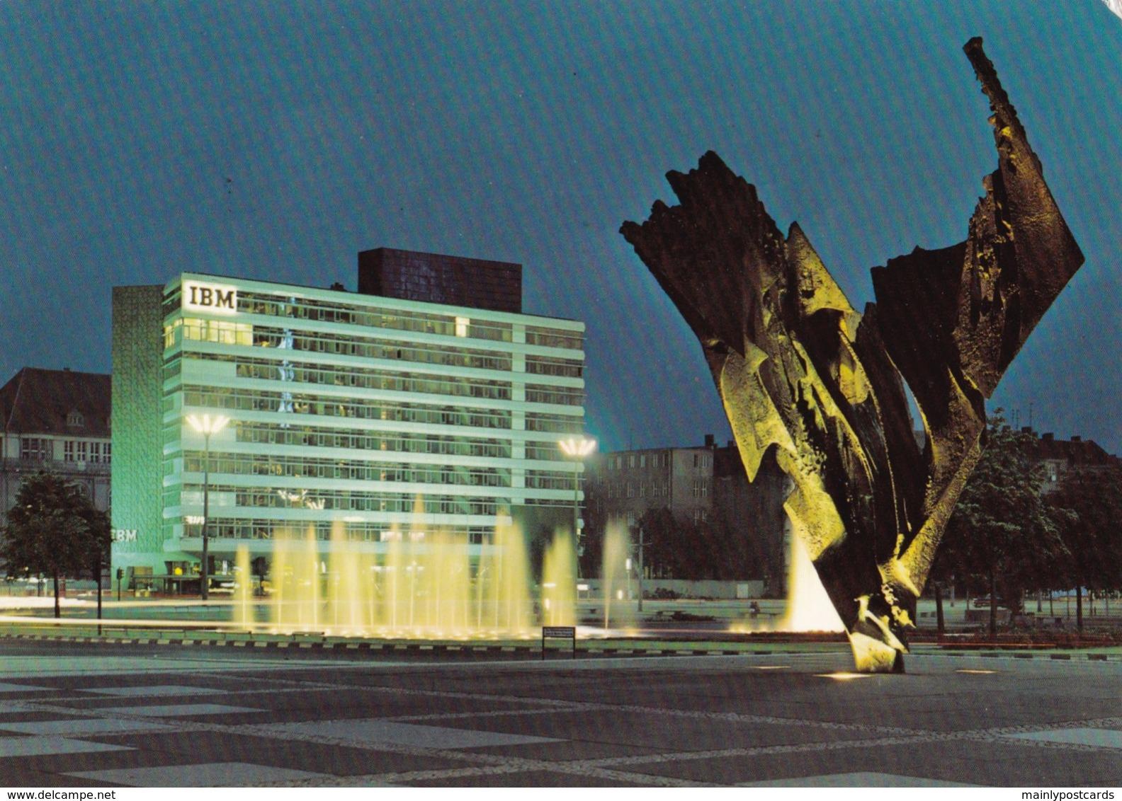 AL19 Berlin, Ernst Reuter Platz By Night - Germany