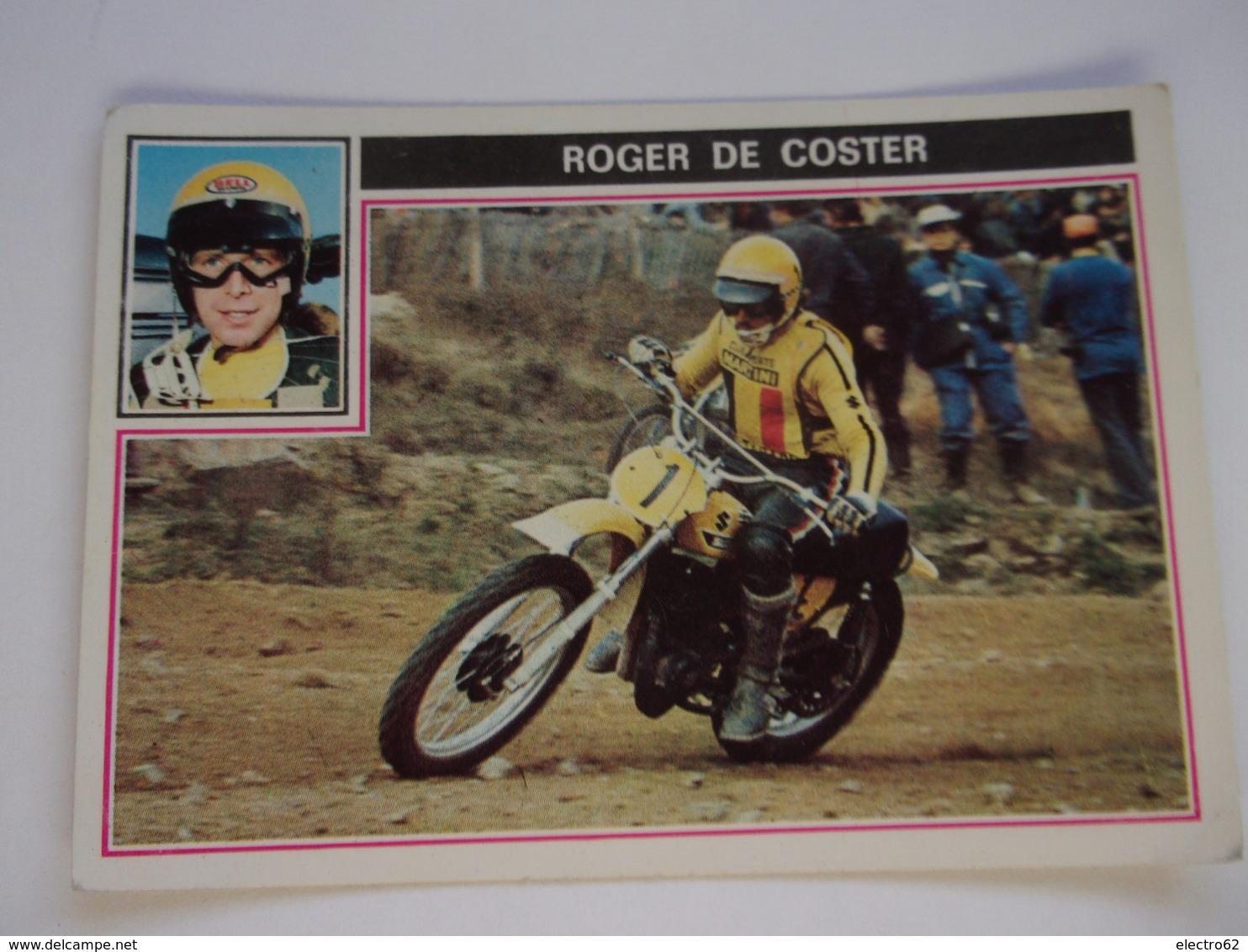 PANINI Super MOTO N°20 ROGER DE COSTER - Panini