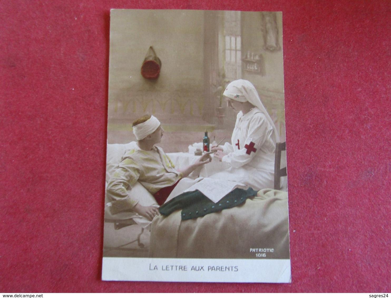 Patriotic - La Lettre Aux Parents - Croix-Rouge