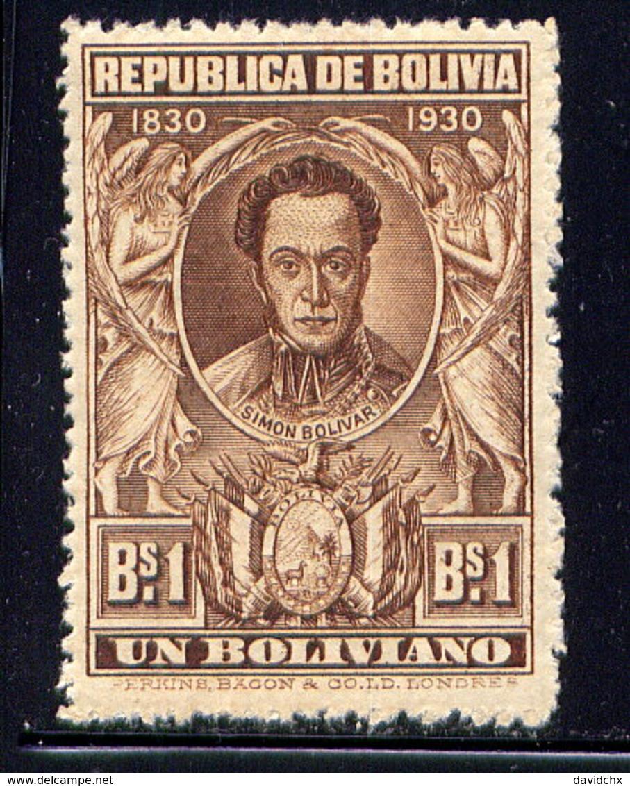 BOLIVIA, NO. 204, MH - Bolivia