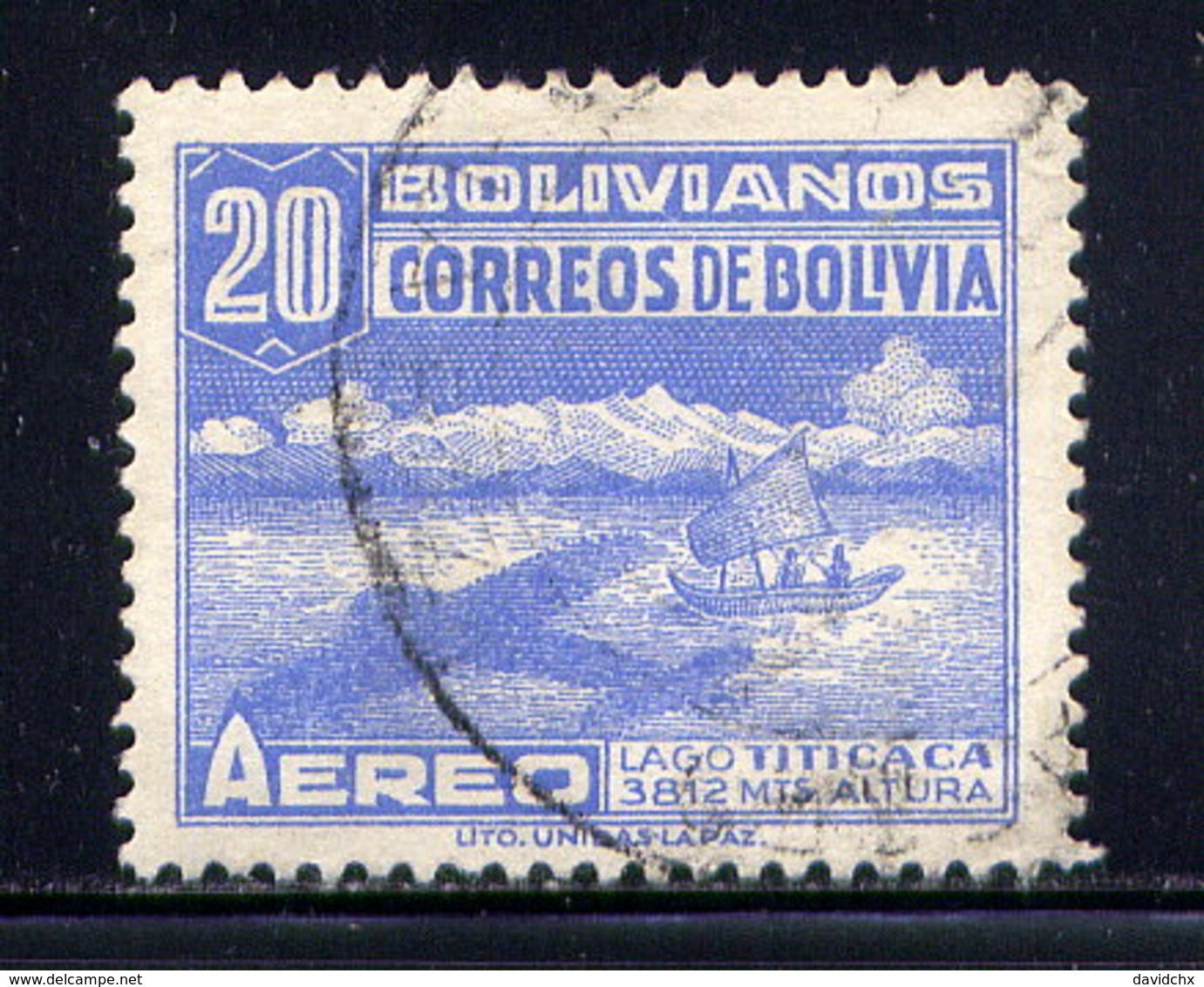 BOLIVIA, NO. C83 - Bolivia