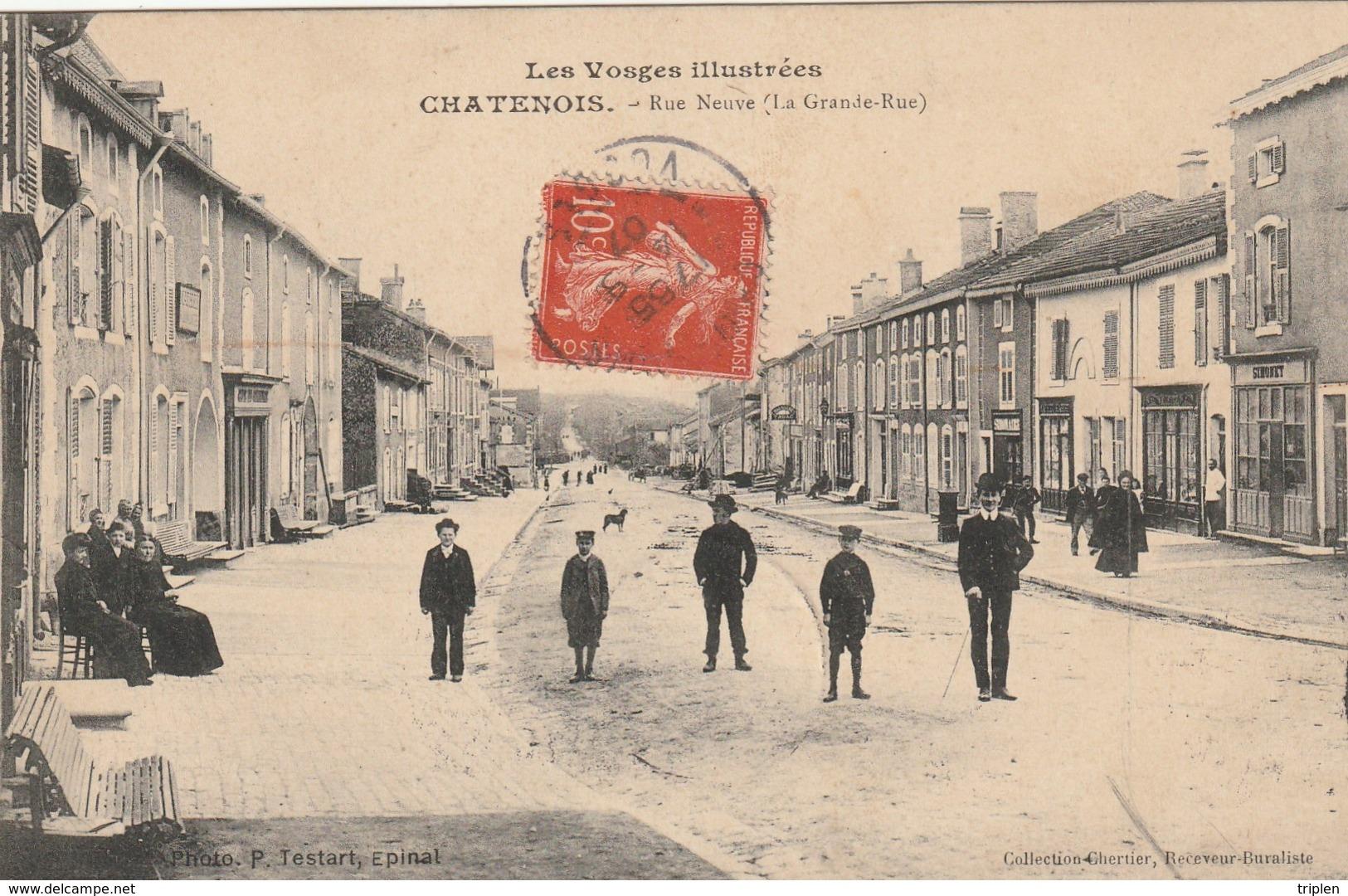 Chatenois - Rue Neuve (La Grande-Rue) - Chatenois