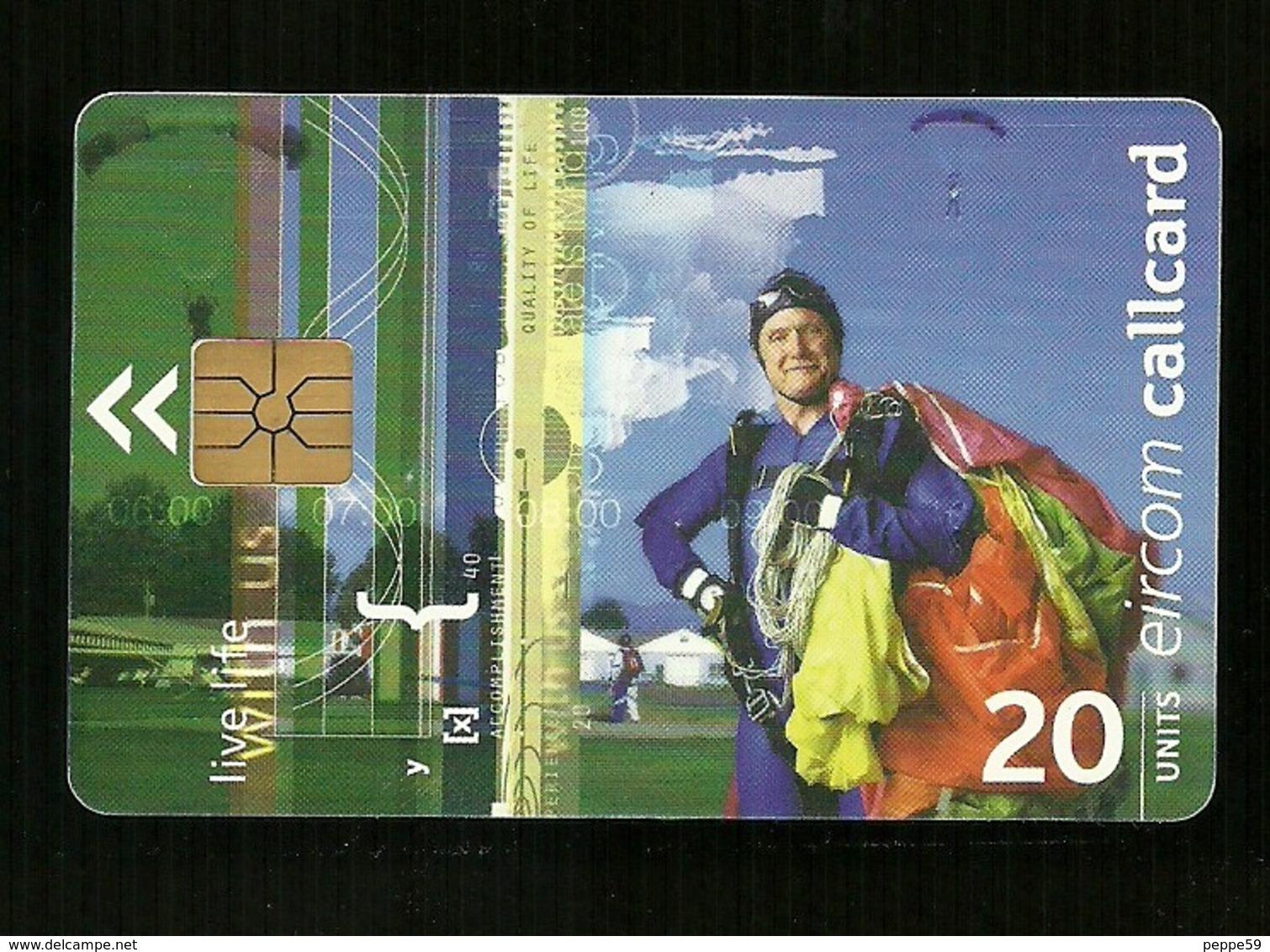 Carta Telefonica Irlanda - Eircom 20 U - Carte Telefoniche@Scheda@Schede@Phonecards@Telecarte@Telefonkarte - Irlanda
